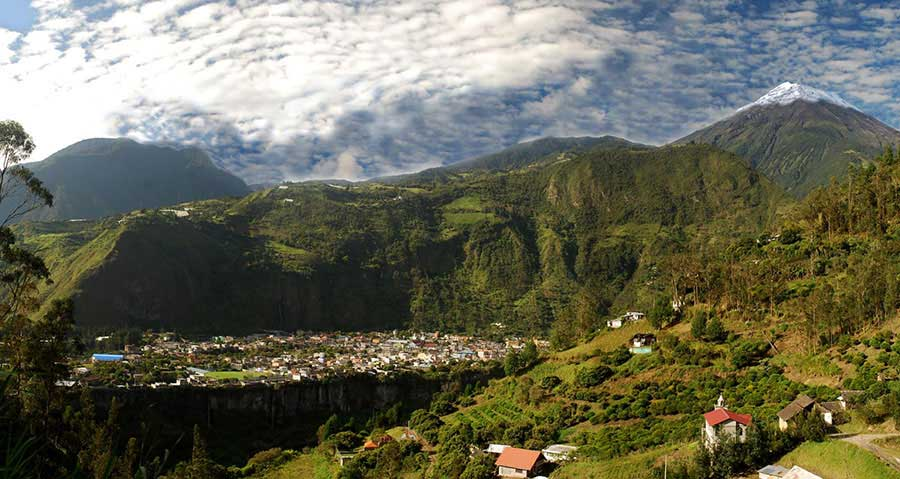 Hostels and Backpackers Banos Ecuador